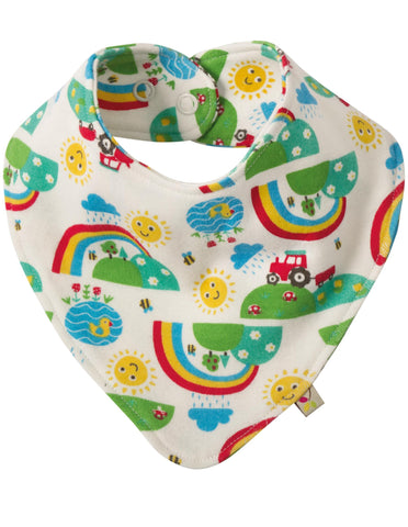 Frugi - Happy Days Dribble Bib