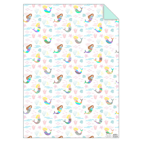Meri Meri gift wrap, Mermaids, Mini Mi