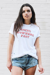 GOING NOWHERE FAST T-SHIRT - JAWBREAKING APPAREL