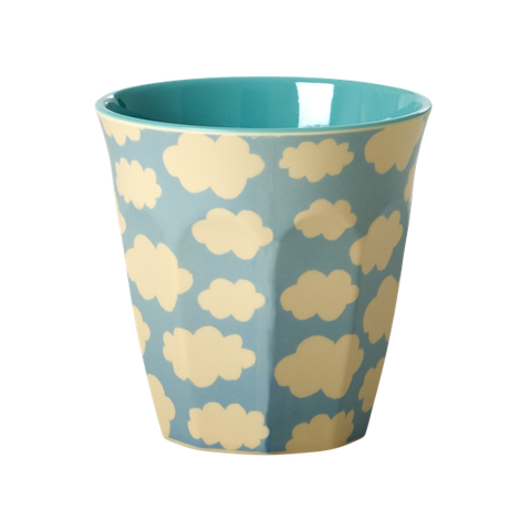 Rice Melamine cloud print cup, mini mi