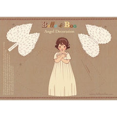 BELLE & BOO - PAPER ANGEL DECORATION - FOR CHRISTMAS