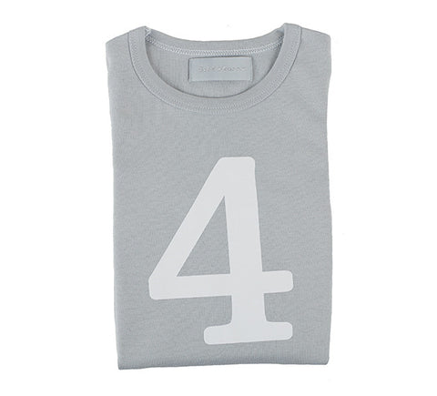 bob and blossom slim fit grey tee - number 4