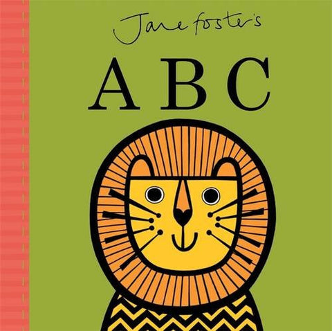 JANE FOSTER BABY'S FIRST BOOK - ABC ALPHABET BOOK
