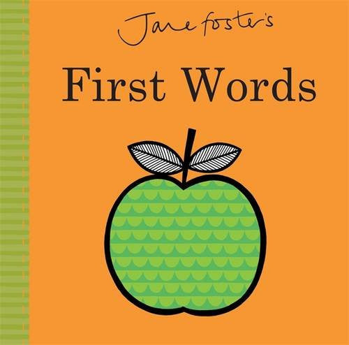 JANE FOSTER BABY BOOK - FIRST WORDS
