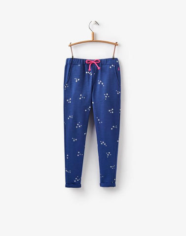 JOULES NAVY STARRY TROUSERS