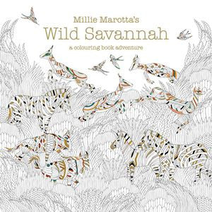 Millie Marotta's - Wild Savannah - Colouring Book