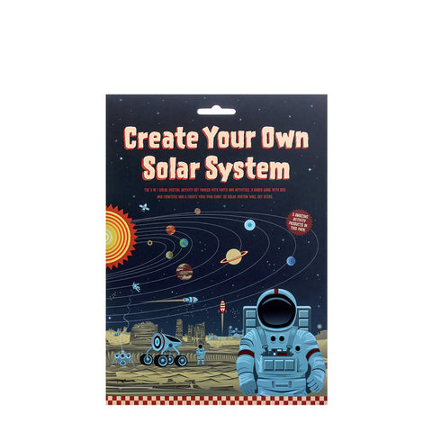 Create your own solar system - space for kids