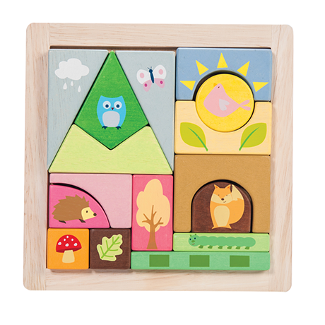 Le Toy Van - Wooden Puzzle Blocks