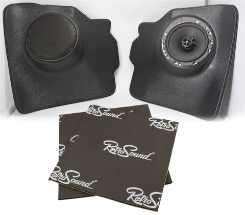 Kick Panels for 1952-73 Volkswagen Beetle Sedan-RetroSound