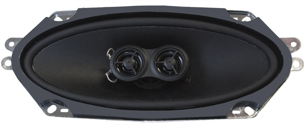 Utra-thin Dash Replacement Speaker for 1966-67 Chevrolet El Camino with No Factory Air Conditioning-RetroSound