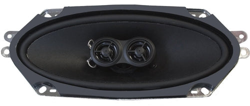 Premium Ultra-thin Dash Replacement Speaker for 1968-72 Oldsmobile Cutlass with Mono Factory Radio-RetroSound