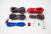 RetroSound<sup>®</sup> 8 Gauge 3 Channel Amplifier Wiring Kit-RetroSound