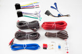 RetroSound® 8 Gauge 4 Channel Amplifier Wiring Kit-RetroSound