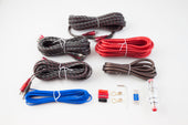 RetroSound® 8 Gauge 5 Channel Amplifier Wiring Kit-RetroSound