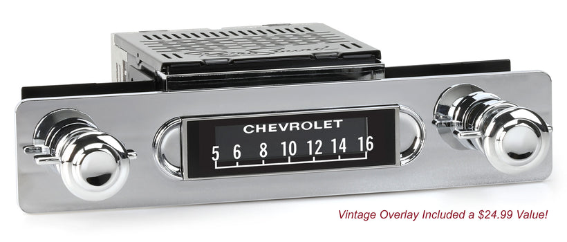 1955-59 Chevrolet or GMC Truck Apache Radio-RetroSound