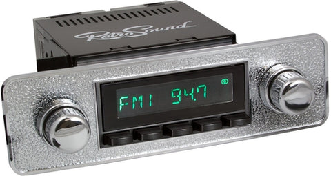 1970-83 Fiat Spider San Diego Radio with DIN Kit-RetroSound
