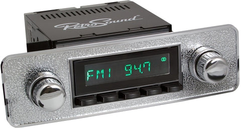 1969-75 Jaguar XJ Series Model Two Radio with Euro-style Plate - Retro Manufacturing  - 1