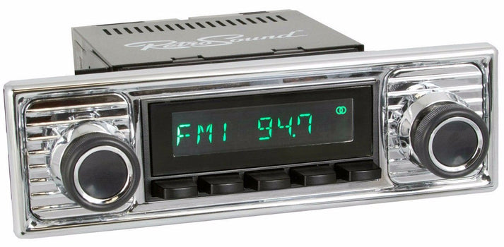 1961-71 Jaguar XK Series San Diego Radio with Becker-Style Plate