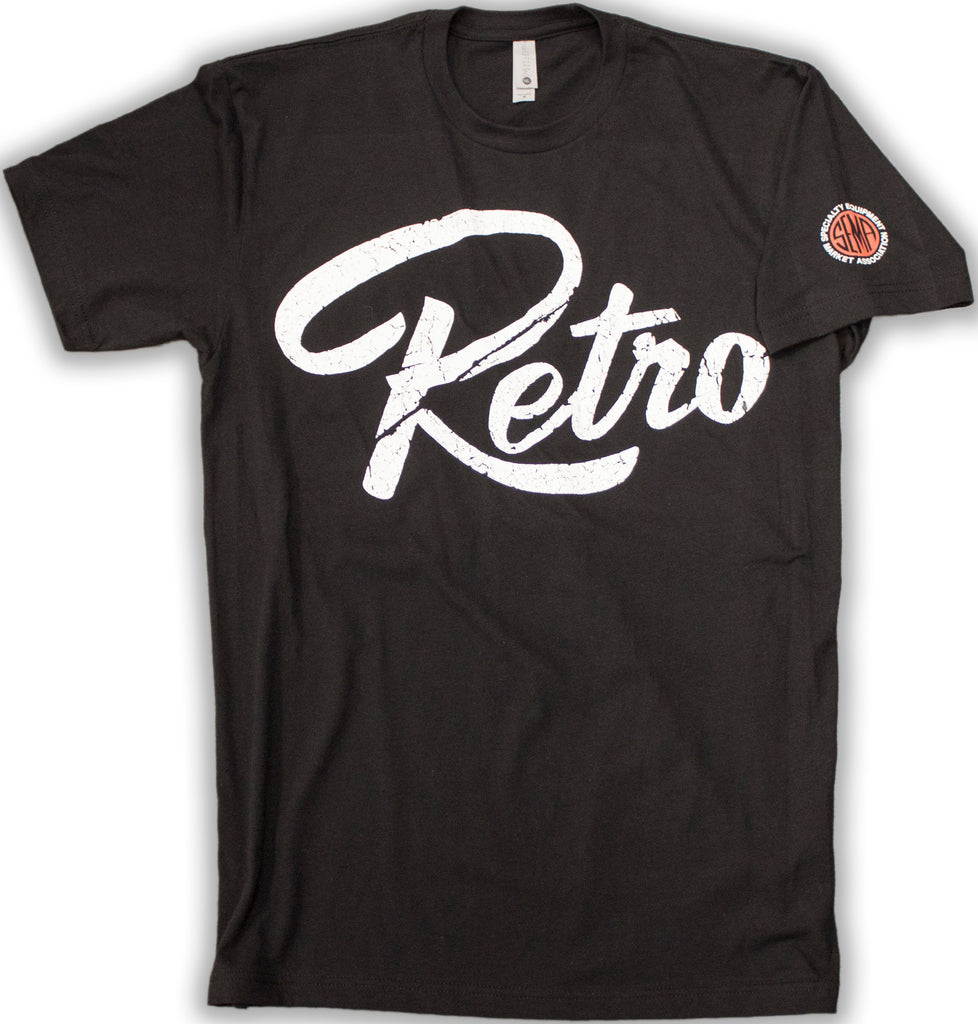 Official Retro Logo T-Shirt - Black-RetroSound