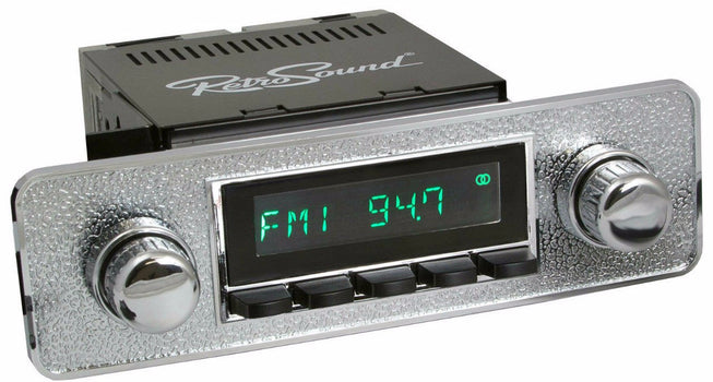 1980-84 Volkswagen Rabbit San Diego Radio with DIN Kit-RetroSound