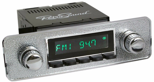 1982-88 Volkswagen Quantum San Diego Radio with DIN Kit-RetroSound