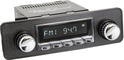 1983-85 Porsche 944 Model Two Radio - Retro Manufacturing  - 1