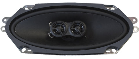 4x10-Inch Premium Ultra-thin Dash Replacement Speaker-RetroSound