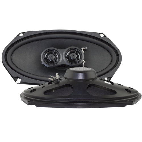 4x8-Inch Door Speakers for 1966 Ford Thunderbird with Deluxe Factory Radio-RetroSound
