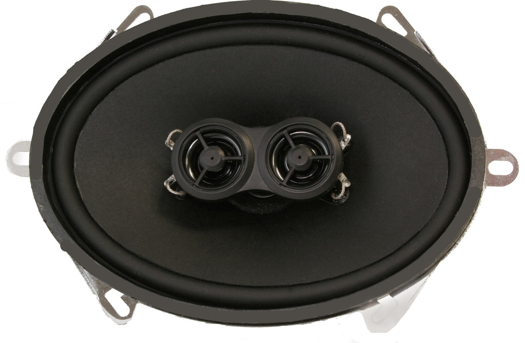1961-66 Ford Truck Dash Replacement Premium Ultra-thin Speaker-RetroSound