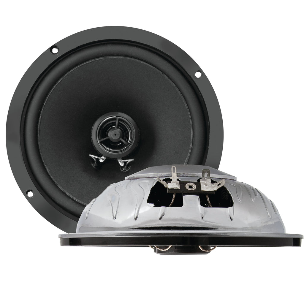 6.5-Inch Premium Ultra-thin Ford E-250 Econoline Front Door Replacement Speakers-RetroSound
