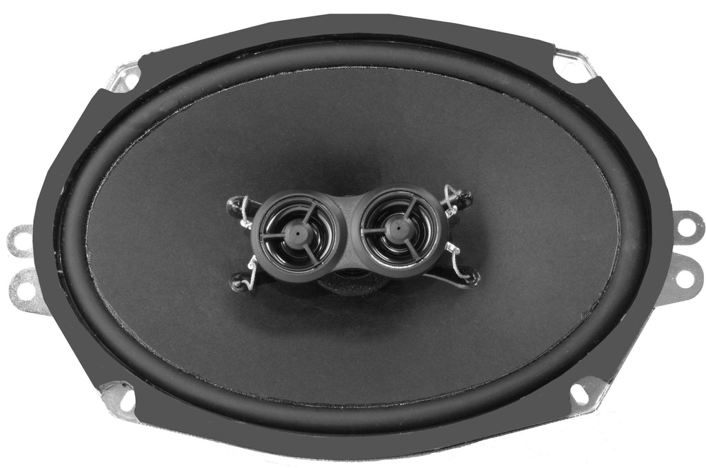 6x9-Inch Ultra-thin Dash Speaker - Retro Manufacturing  - 1