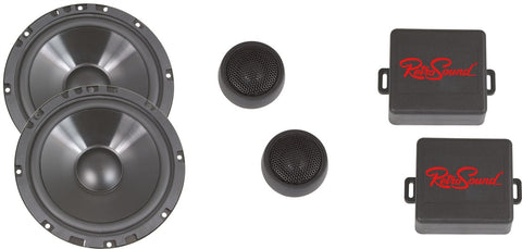 6.5-Inch Ultra-thin Water-resistant Component Speaker System - Retro Manufacturing  - 1