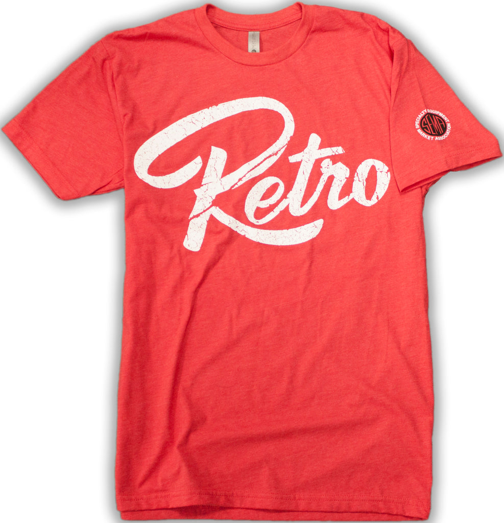 Official Retro Logo T-Shirt - Red-RetroSound