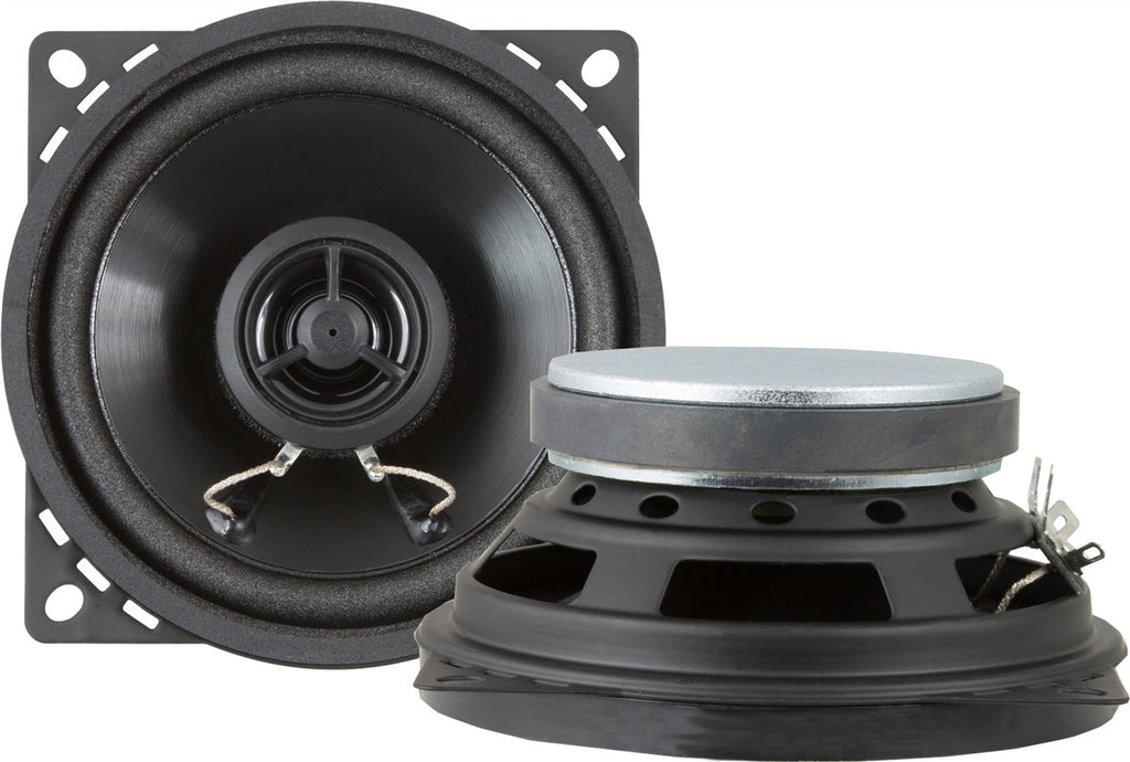 4-Inch Standard Series Stereo Speakers-RetroSound