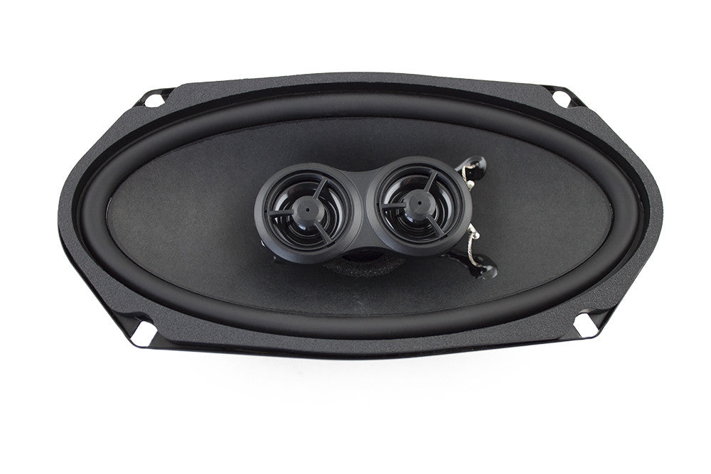4x8-Inch Ultra-thin Replacement Speakers - Retro Manufacturing  - 1