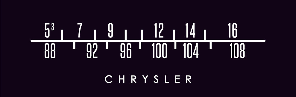Chrysler Logo Vintage Dial Screens-RetroSound