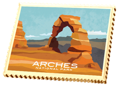 Arches National Park Ingot