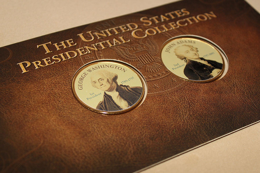 U.S. Presidential Medallion Collection Subscription Program (2 Medallions Per Month) + Trump Medallion