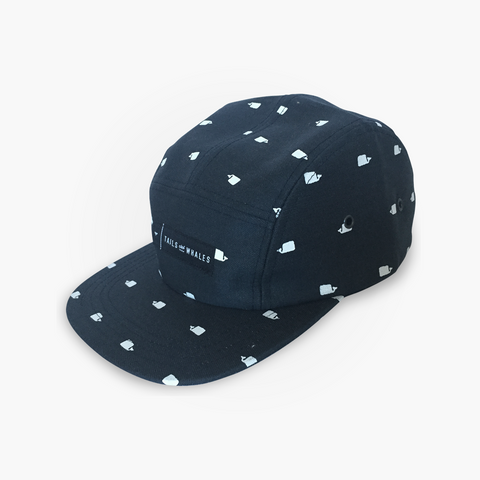 WHALE WATCH - 5 Panel Cap