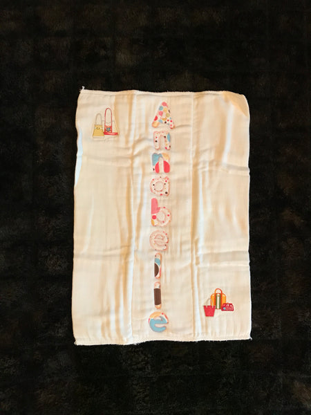 ANNABELLE Burp Cloth
