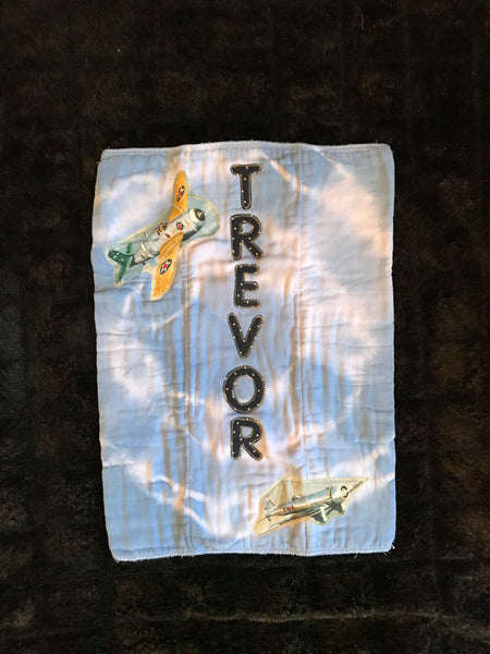 TREVOR Burp Cloth