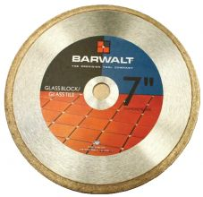 Barwalt- Glass Tile/Block Diamond Blades