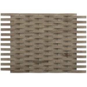 3D Weave Athens Grey Mosaic