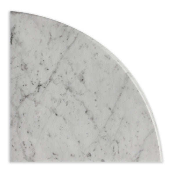 Corner Soap Dish- Bianco Carrara Polished