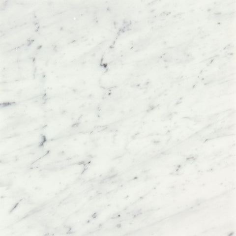 "Bianco Carrara Polished 18""x18"""