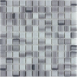 "Equator/Marmara White 1""X1"" Polished Mosaic"
