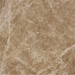 "Light Emperador Polished 12""x12"""