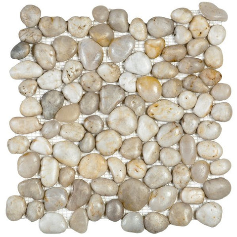 Bati Orient GABL03 White Polished Pebble