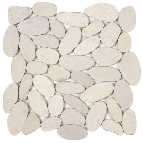 Bati Orient- GABL20 White XL Sliced Matte Pebble