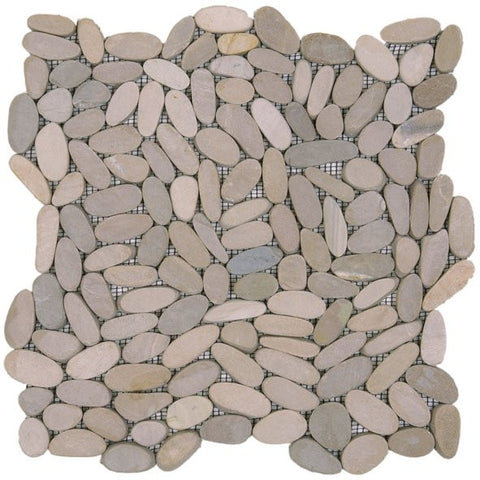 Bati Orient GABE11 Beige Sliced Matte Pebble